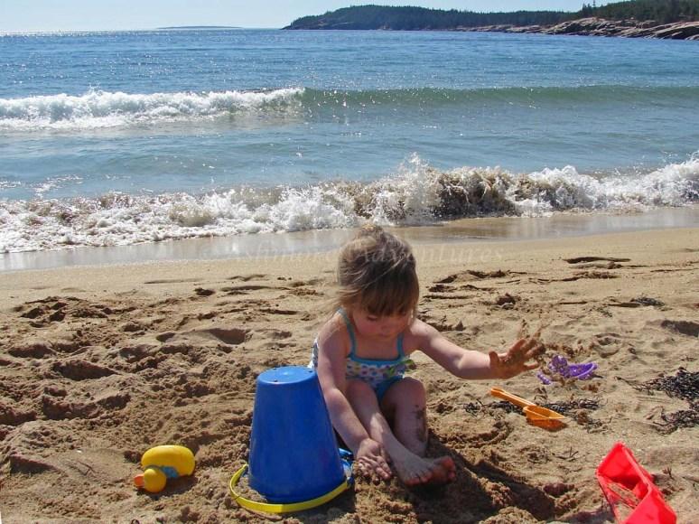 3/22/12 - Amelia at Sand Beach.
