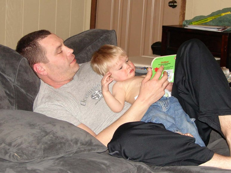 4/8/13 Reading with Daddy