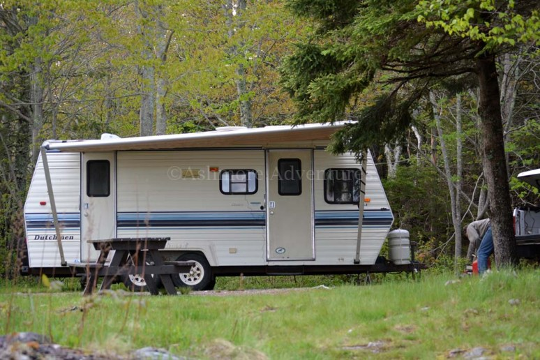 5/26/13 Our camper at Cobscook