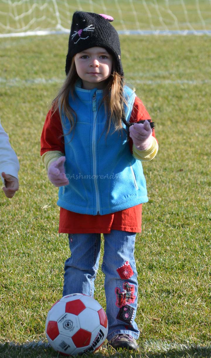 10/26/13 My cute soccer player.