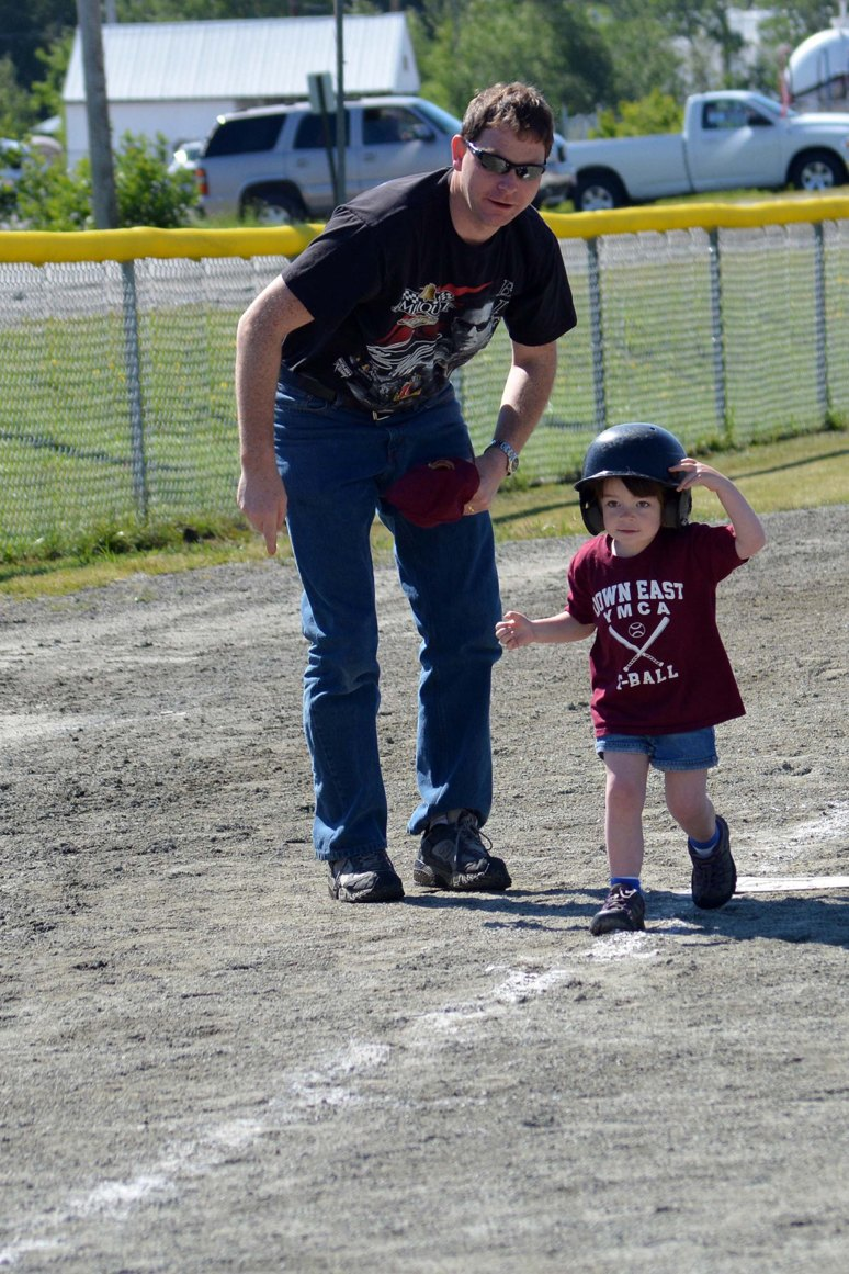 6/15/13 Her last tee ball game.