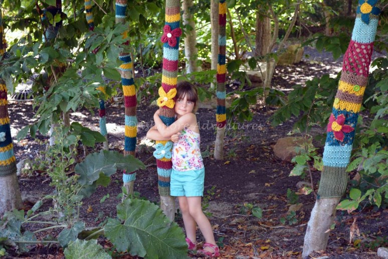 8/27/14 Tree hugging at Highfield Mansion (Cape Cod, MA).